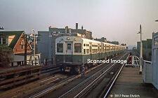 Original Photograph: Chicago CTA 6100s/6200s appr Belmont Av IB (5 x 7)