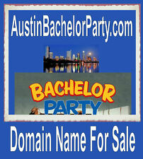 Austin Bachelor Party  .com  Domain name for sale URL Limo Bus Girls Clubs Strip