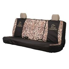 DUCKS UNLIMITED UNIVERSAL BENCH SEAT COVER  - TRUCK, AUTO, CAR GRASS CAMOUFLAGE