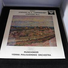 SXL 2156 Decca ED1 Schubert Symphony No8 & 2 Munchinger VPO  EX+/NMint