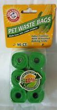 Arm & Hammer Biodegradable Pet Waste Bags - 90 Count - New - Sealed