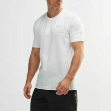 Under Armour Ua Men's Project Rock Logo Short Sleeve T-Shirt - White - New