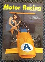 MOTOR RACING and SPORTSCAR APRIL1969 MAGAZINE MINT CONDITION