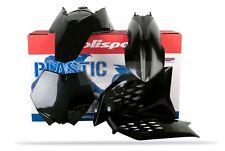 KTM Kit PLASTIQUE SX / Sxf 2007 - 2010 sauf 2008 - 2011 Noir Uni Motocross 90239