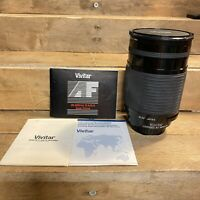 VIVITAR Auto Focus 28-200mm 3.5-5.6 MC Zoom Lens for Minolta & Sony DSLR Cameras