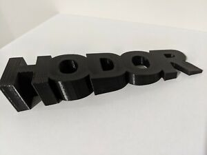 Hodor Hold the door stop - Game of Thrones GOT - All colours available