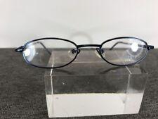 Peach Tree Eyeglasses Capri 77C3 41-17-120 Chrome Blue C489