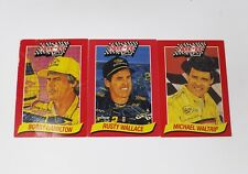 1993 Stove Top Stuffing Mix Nascar Trading Cards - 3 Card Lot