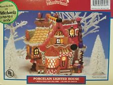 Lemax Christmas Village Gingerbread Cottage Santa's Wonderland 2002 25703AM