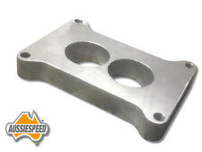 Ford holden valiant 2 barrel holley 350 500 carburetor spacer 20mm aluminum