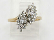 Cluster Right Hand Ring .68ct 00001Eb5 14k Yellow Gold Round Diamond