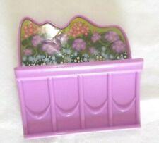 Barbie Malibu Dream House 2010 Caja De Flores De Reemplazo Para Panel lateral inferior (I)
