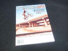NOS ORIGINAL BMX RIDE! JULY 2001 MAGAZINE VOLUME 10, ISSUE 7, NO. 62