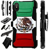 Lux-Guard For iPhone 6/7/8 PLUS/X/XR/XS Max Phone Case Cover MEXICAN EAGLE FLAG