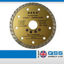 Angle Grinder Diamond Blade 115x22.2 Reinforced Concrete Stones Conglomerate