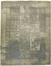 "Custom made hand knotted rug. 9'2""x 12'. (110""x 144"")"