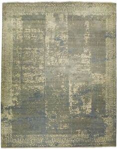 """Custom made hand knotted Indian rug. 9'2""""x 12'"""