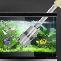 Electric Aquarium Fish Tank Pump Water Siphon Vacuum Gravel Cleaner Filter Tools
