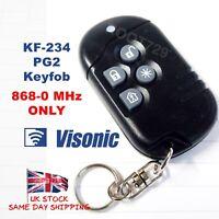 Visonic KF-234 PG2 Wireless Keyfob for PowerG + PowerMaster 868-0 MHz (EU / ADT)