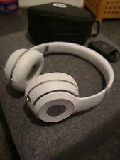 Apple Beats By Dr Dre Solo 3 Wireless Matte Silver Grey Genuine Headphones