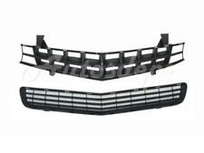 FOR 2010-2013 CHEVY CAMARO SS MODEL GRILLE FRONT BUMPER LOWER GRILLE 2PCS