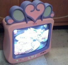 "DISNEY PRINCESS DT-1350-P 13"" COLOR CRT TELEVISION   GAMING MACHINE"