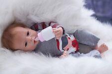 """Lifelike Reborn Newborn Doll Toy 20"""" Handmade Simulation Baby Boy Girl Doll"""