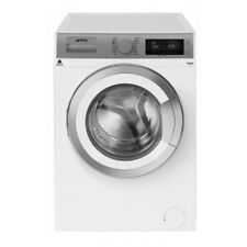 Smeg WHT814LUK White & Silver 8kg 1400rpm A+++ Washing Machine NEW 5 Yr Wrty