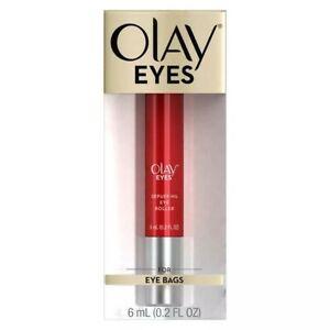 NEW!! Olay Eyes Depuffing Eye Roller For EYE BAGS 0.2oz