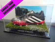 ✺Signed✺ JAEGER O'MEARA Football Boot PROOF COA Hawthorn Hawks 2017 Guernsey
