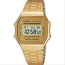 CASIO OROLOGIO COLLECTION tipo vintage quadrato A168WG 9EF color oro