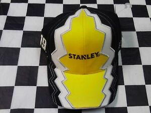 Carl Edwards #19 NASCAR Ball Cap Hat NEW black white yellow Stanley Tools