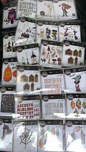 NEW Tim holtz sizzix thinlits colorize dies Halloween 🎃 Lot of 100