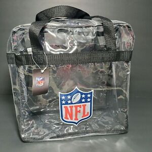 Clear Plastic Zipper Tote Bag NFL Stadium Approved Football ***Not A Purse!!***