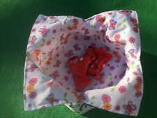Reversible/reusable eco friendly fabric bowl add anything you desire food etc