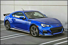 Inner Outter Front Bumper Canard For Subaru BRZ PJDM Carbon Fiber 4pcs