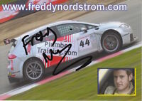 Freddy Nordstrom Hand Signed Promo Card Touring Cars.