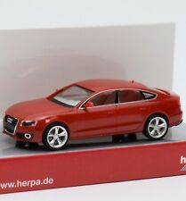 Herpa H0 024259 Audi A5 Sportback in rot, OVP, 1:87, G1/02