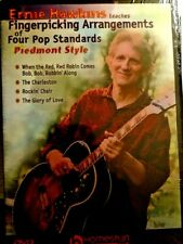 Fingerpicking Arrangements Of Four Pop Standards Piedmont Style [Homespun DVD]