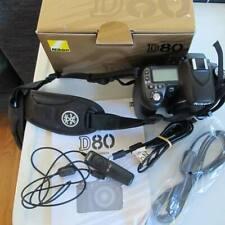 NIKON D80 Digital SLR CAMERA BODY- Battery + Charger + Cables + Manual + Strap