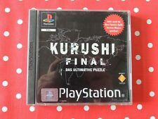 Kurushi Final Playstation 1 PS1 PSX in OVP mit Anleitung