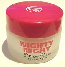 W7 Nighty Night Dream Cream - Moisturising Night Cream 40ml