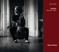 Michal Stahel : Solitude: Baroque Chello CD (2014) ***NEW*** Fast and FREE P & P