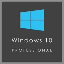 Windows 10 Pro Retail Professional 32/64bit Clé d'Activation Authentique