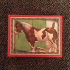 Vintage Wood Block Picture Puzzle 3x4 With 5 Pictures - Farm Animals