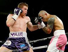 Saul Canelo Alvarez vs Miguel Cotto Boxing Fight 8x10 Photo