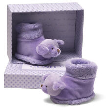 NWT GUND La Collection Be' Be' Dog Booties Plum