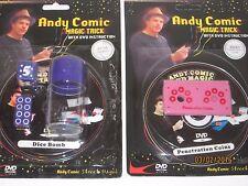Dice Bomb & Penetration Coins Magic Trick- Lot of 2 Tricks w/DVD Close-Up Street