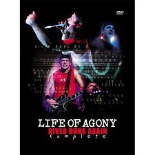 """LIFE OF AGONY """"RIVER RUNS AGAIN.."""" DVD + DO-CD NEU NEU!"""