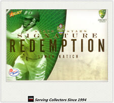 2008-09 Select Cricket Trading Cards Star Signature Card S1 Simon Katich